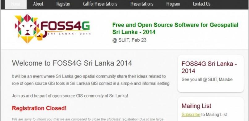 FOSS4G Sri Lanka